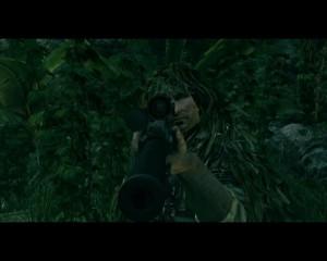 Снайпер-призрак на позиции