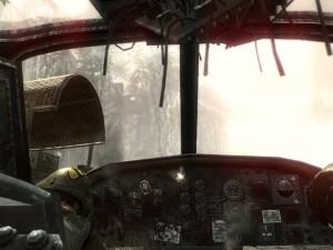 Black Ops бой в вертолете