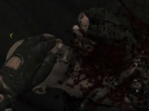 Black Ops удар ножиком